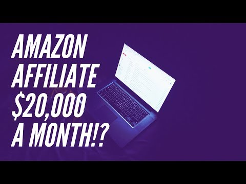 The 10 Page Amazon Affiliate Website That Makes $20,000+ a Month!