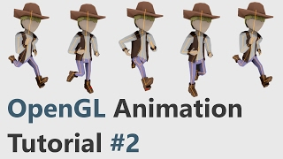 OpenGL Skeletal Animation Tutorial #2
