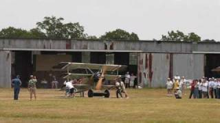 Kingsbury Fokker Dr.1 puts on a show of good strafing runs at the O...