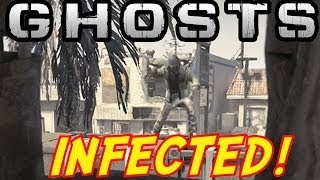 Call of Duty: Ghosts INFECTED Gameplay #2 - LIVE w/Dalek - (COD Ghost Multiplayer)