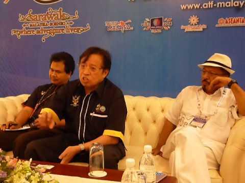 ATF 2014: Sarawak Tourism Update Press Conference