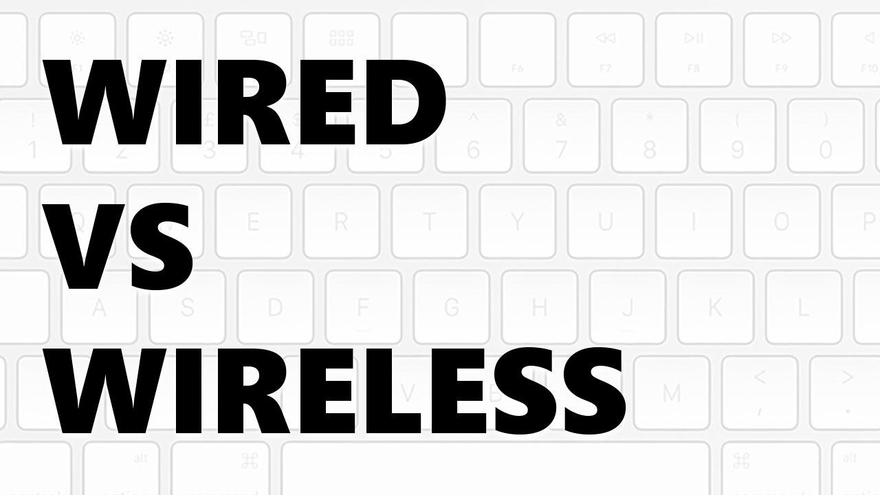 desktop keyboards wired vs wireless youtube. Black Bedroom Furniture Sets. Home Design Ideas