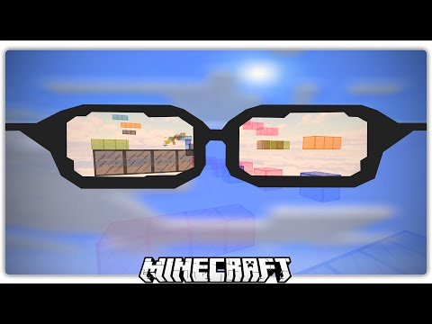 Minecraft Parkour with BLURRY GLASSES on