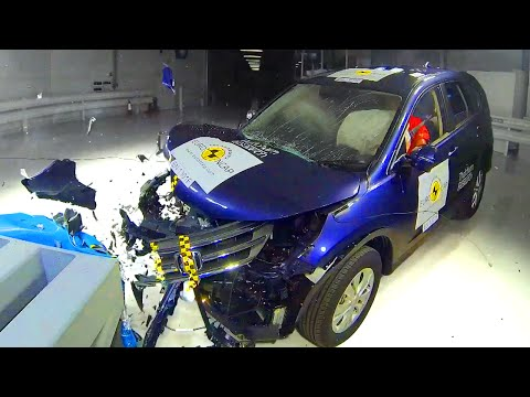 Honda CRV Crash Test – Fifth Gear