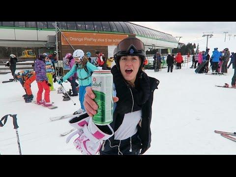 Skiing in Romania!