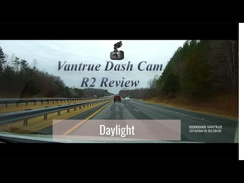 Dash Cam Review With Day/night Footage - Vantrue OnDash R2