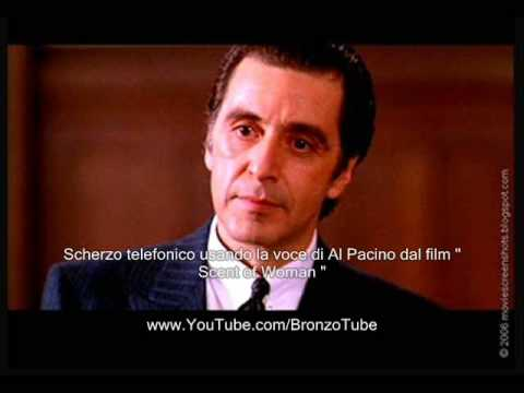Scherzo Telefonico A Napoletana Con Voce Di Al Pacino