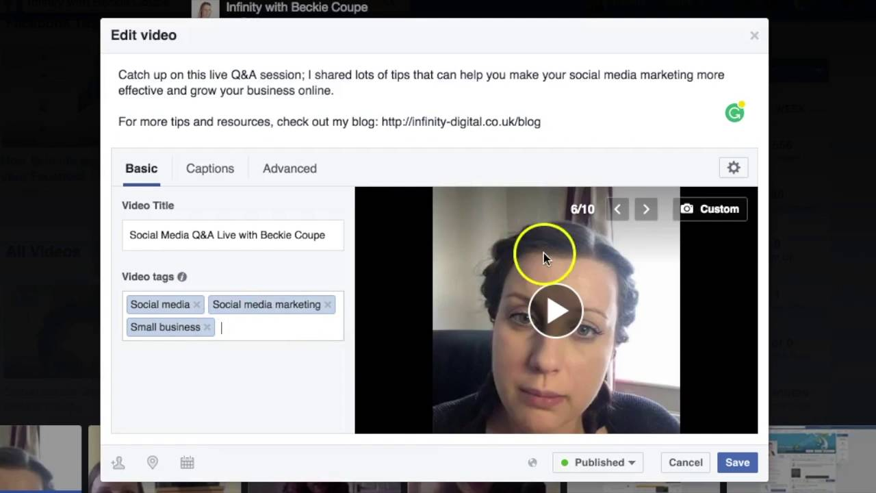 How To Edit Your Facebook Live Videos