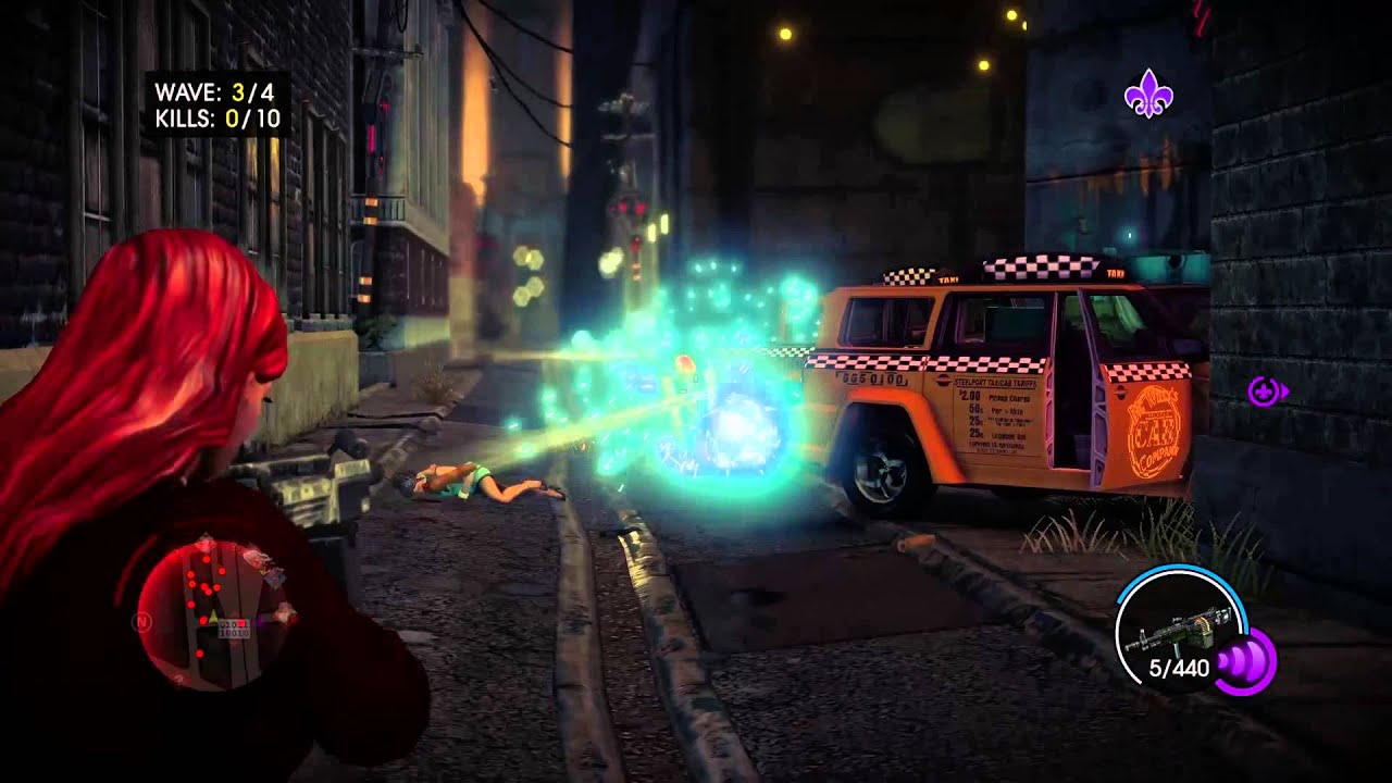Saints Row IV: Re-Elected Glitches, Running Naked, Messing