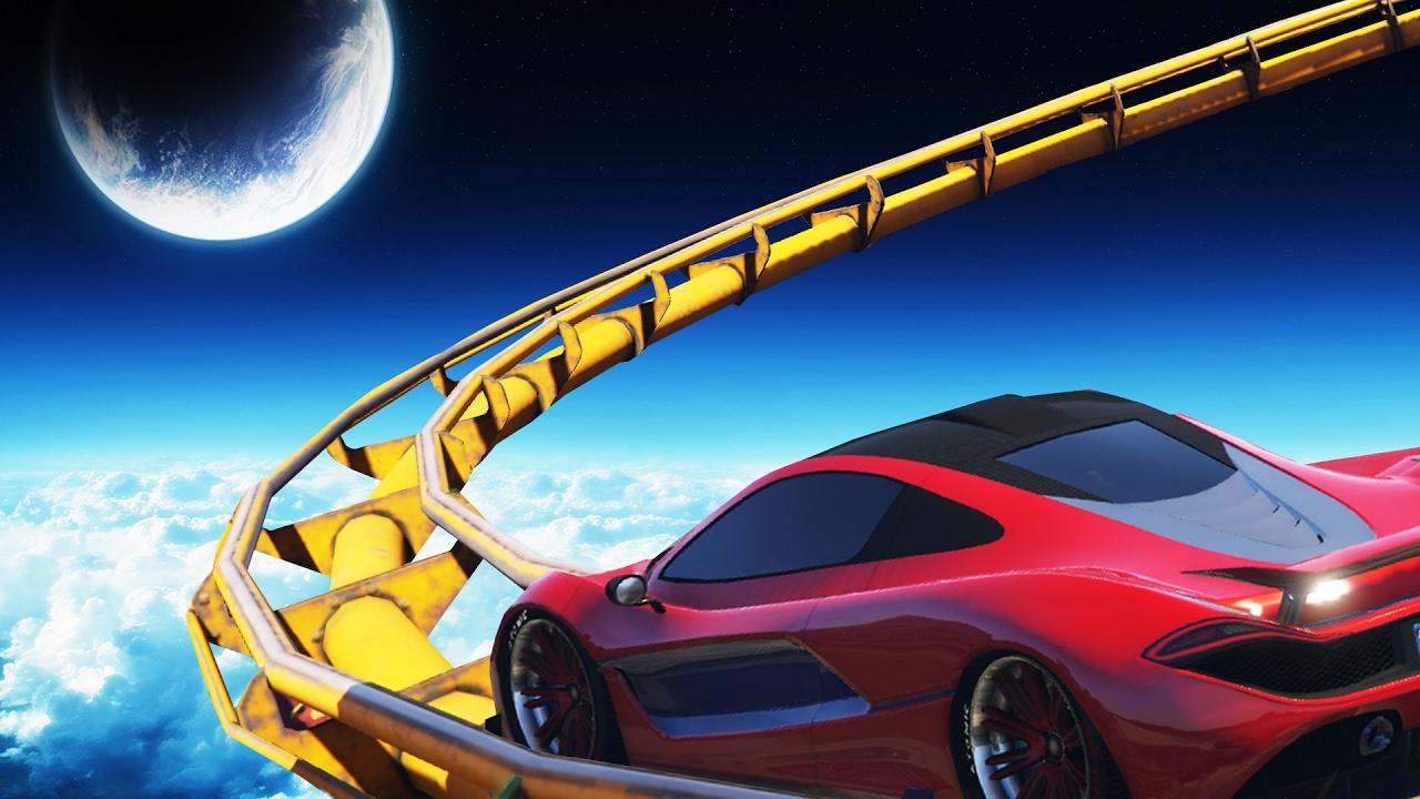 gta 5'te rollercoaster (gta 5 komik anlar) - youtube