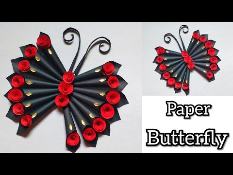 Butterfly Wall Hanging | Easy Paper Craft Ideas For Children | Amazing Craft Ideas | By Punekar Sneh