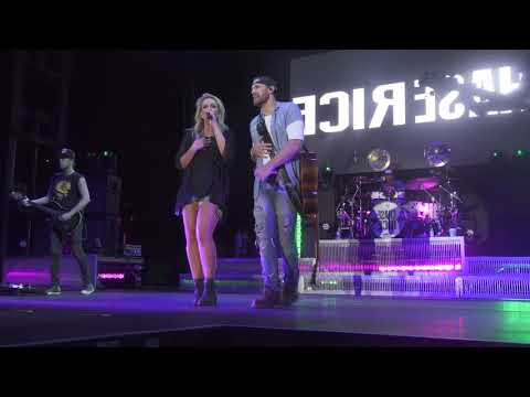 Chase Rice and Claire Dunn Perform Cruise Live in Concert