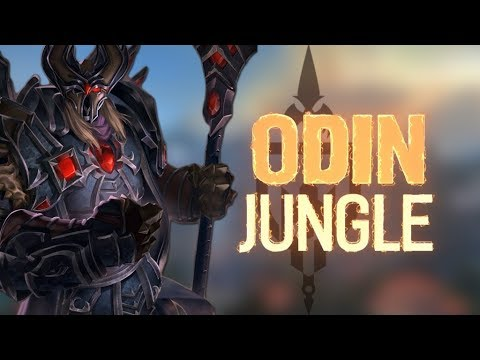 ODIN RANKED JUNGLE: THE BIRD BOMB KING OF THE JUNGLE - Incon - Smite