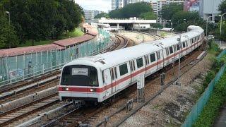 シンガポール地下鉄南北線C751B形・C651形アン・モ・キオ駅発着 Singapore MRT C751B and C651 Train