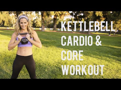 30 Minute Kettlebell Cardio Core Workout--Blast Fat and Sculpt Abs