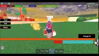 Roblox DBZ BOG game epic battles part 1