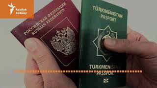 "Rus D M i Russia we T¬rkmenistan goa raatlara t¬rkmen pasportyny bermegiш ¬st¬nde ile""r"