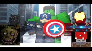 superhero tycoon roblox with Dr boss