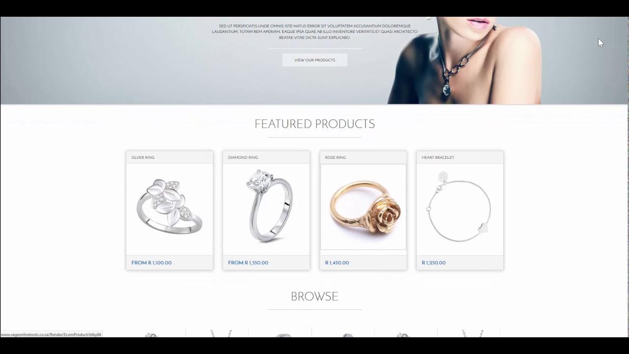 Sage Online Tools - eCommerce & Website builder