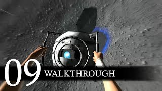 Portal 2 Campaign Walkthrough Part 9 (No Commentary/Full Game)