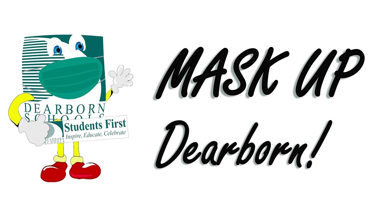 Mask Up Dearborn - YouTube