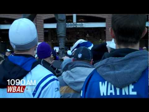 Ravens & Colts Fans Tailgate In Harmony?