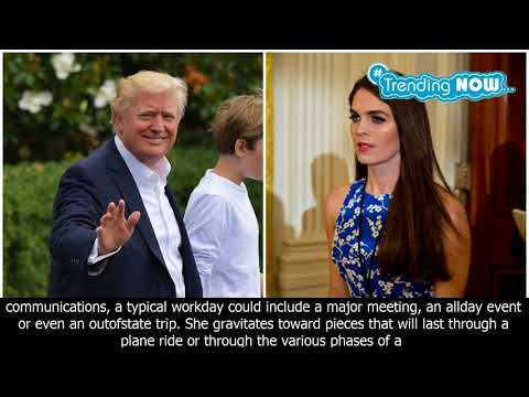 Hope hicks & donald trump: 5 fast facts you need toknow - Trending Now