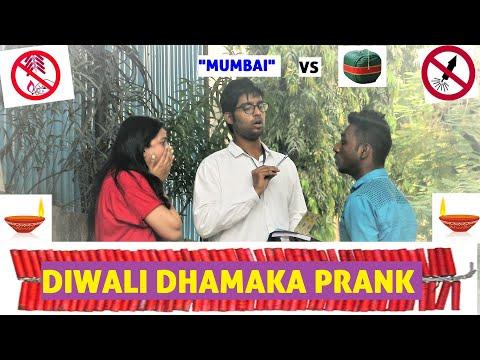BUNTY BUBBLEE | DIWALI DHAMAKA PRANK | B.M.C, MUMBAI vs FIRECRACKERS