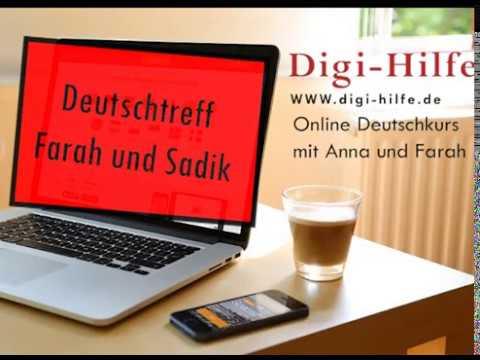 Digi-Hilfe: Deutschtreff
