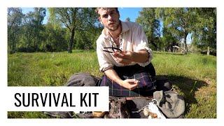 Survival kit of the Ancient Highlander