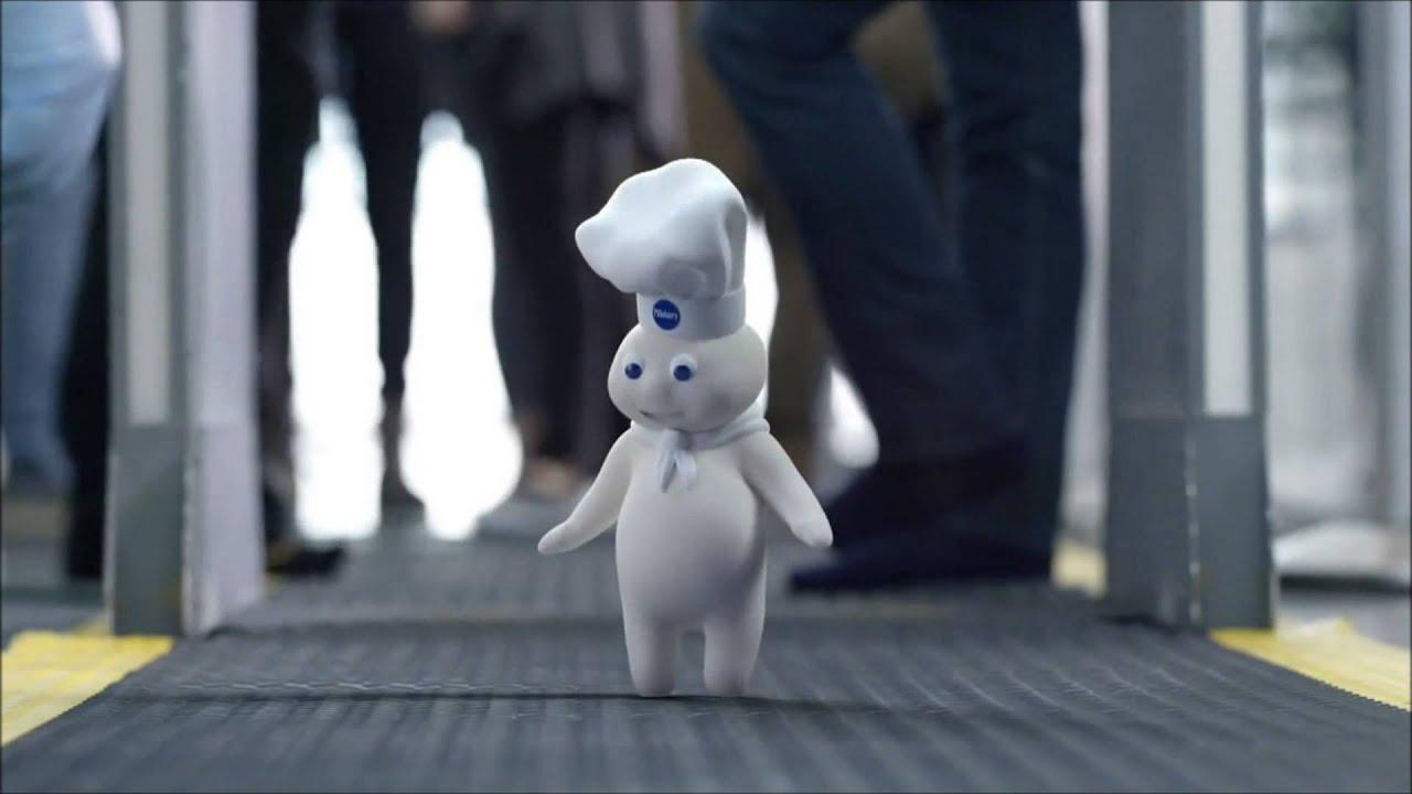 Cute Pig Wallpaper Hd Pillsbury Doughboy Commercial Youtube
