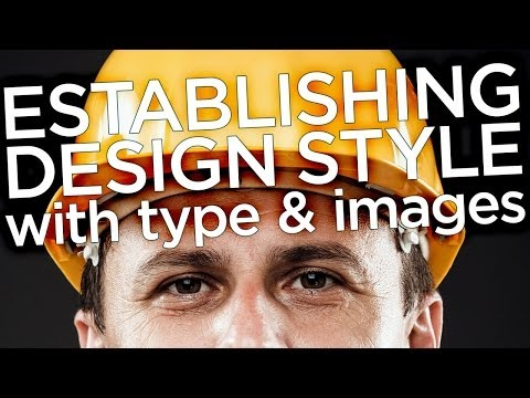 Graphic Design Tutorial: Establishing design style