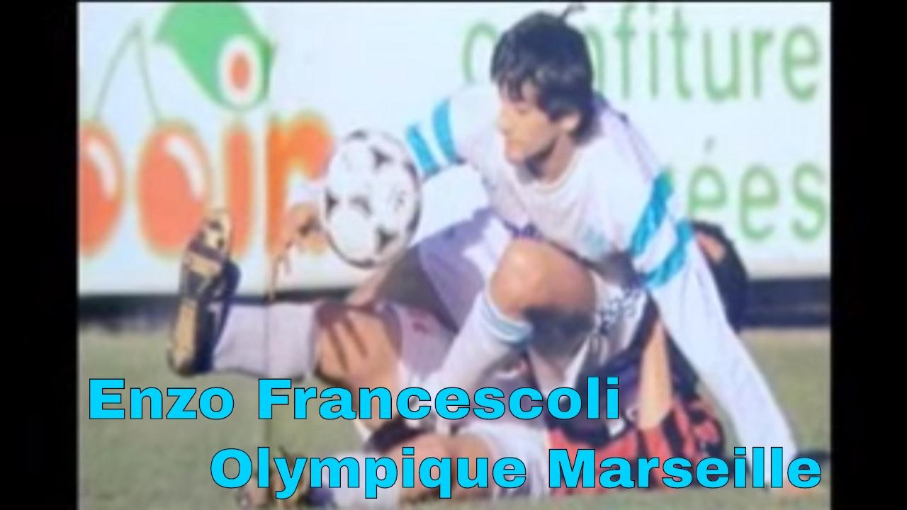 Enzo Francescoli In Olympique Marseille El Principe Le Prince