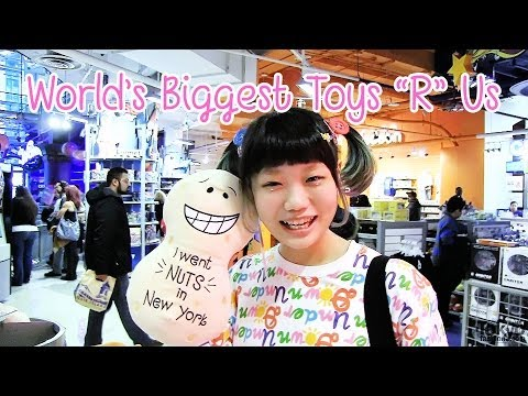Toys R Us Times Square & Giant Ferris Wheel - Elleanor's Tokyo