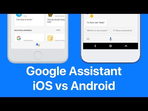 Thumbnail: Google Assistant on iOS vs Android (and Siri's here too!)