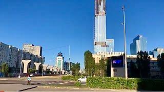 Строительство LRT - легкорельсовый транспорт Нур-Султан / Астана, Казахстан