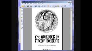 Let's Play The Warlock of Firetop Mountain (Fighting Fantasy Game Book) Part 1