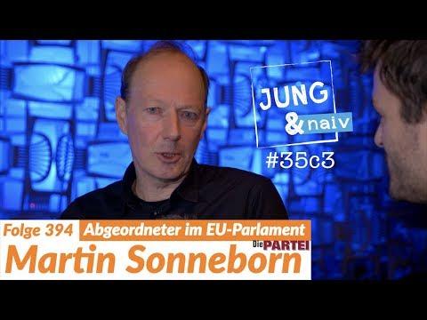 Vorsitzender von Die PARTEI, Martin Sonneborn - Jung & Naiv: Folge 394 (35c3)