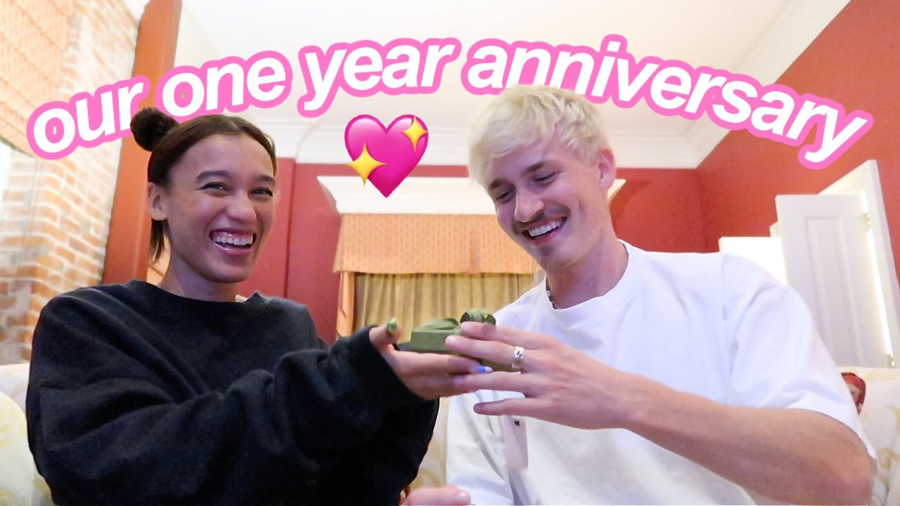 OUR 1 YEAR ANNIVERSARY VLOG!!