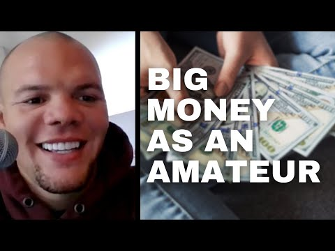 Anthony Smith made bank as an amateur fighter. Here's how... major street cred