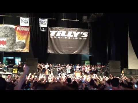 """The Story So Far """"Roam"""" - Live July 11, 2013 Warped Tour"""