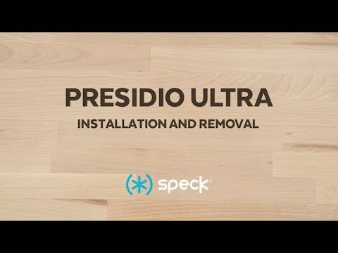 How to Install Speck's Presidio ULTRA case