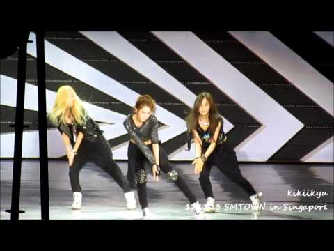 121123 SMTOWN Singapore - Dance Battle + Maxstep (TVXQ, SJ, SNSD, SHINee, f(x), EXO)