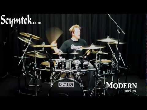Scymtek Cymbals Modern Series, Artist Kevin Rankin Demo