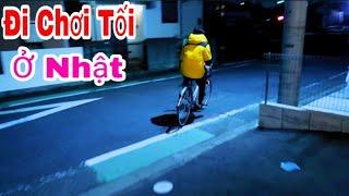 Đi Chơi Tối Ở Nhật Bản || cuộc sống nhật || san vlog