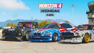 Forza Horizon 4 - [HOONIGAN] - Garage