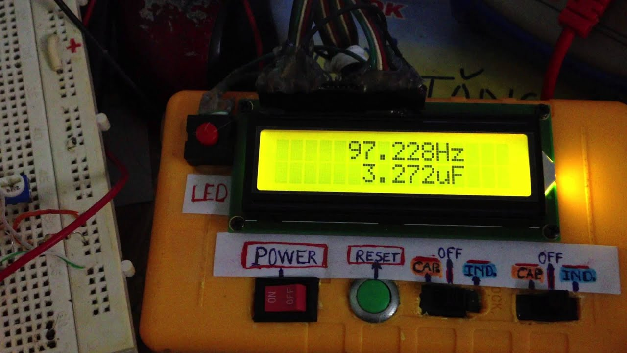 Diy Accurate Lcf Meter Frequency Counter Tested How To Build Xtal Tester