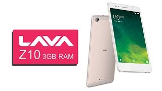 Lava Z10 with 3GB RAM || 8 MP Rear Camera