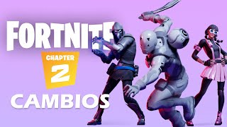 Cambios Más Importantes en Fortnite Capítulo 2