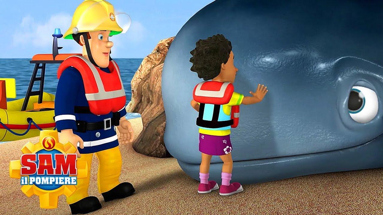 Salviamo la balena!   NUOVI episodi   Sam il pompiere   Cartoni animati